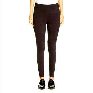 Lysse high waist faux suede leggings